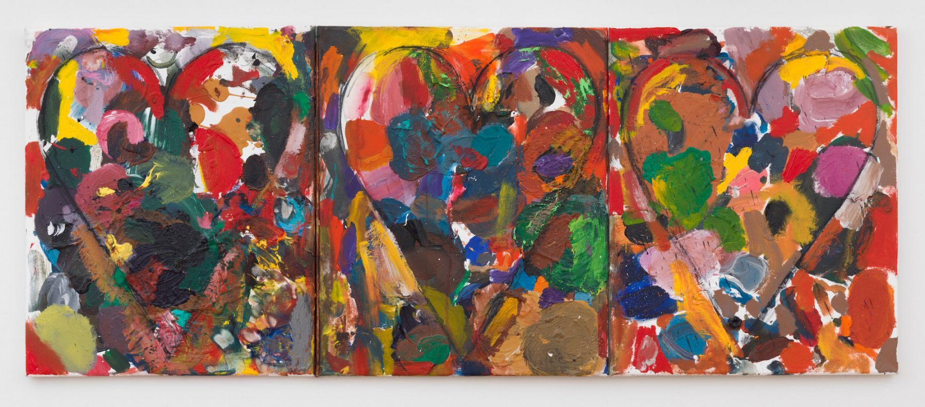 Jim Dine, Swimming in the French Sea, 2015
