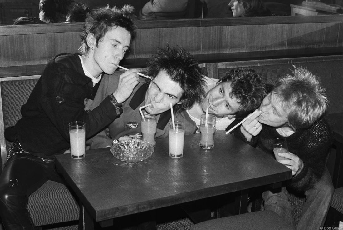The Sex Pistols, Luxembourg, 1977