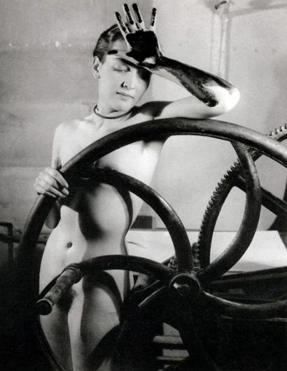 Man Ray Erotique Voile (Merit Oppenheim), c. 1930
