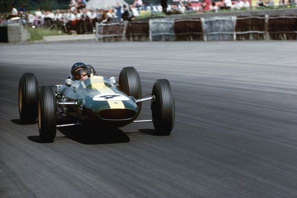 Jim Clark (Lotus), British Grand Prix, Silverstone, England, 1962
