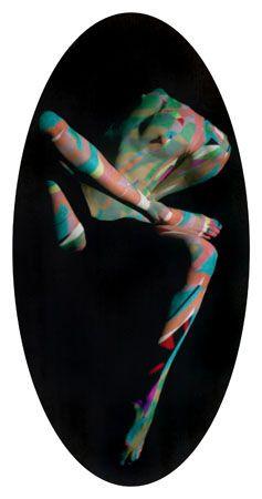 Ova, Untitled #0703866, 40 x 20 Lambda Print, Copper, and Glass, Ed. 10