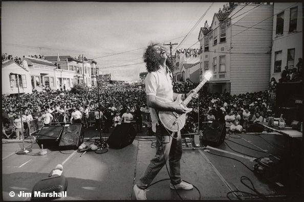 Santana, 1988, 11 x 14 Silver Gelatin Photograph