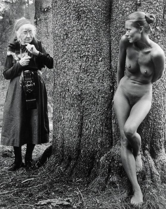 Judy Dater, Imogen and Twinka at Yosemite, 1974