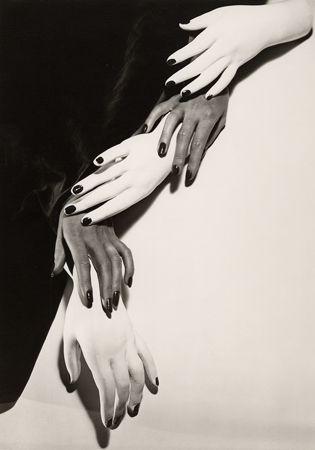 Hands, Hands, 1941, 14 x 11 Silver Gelatin Photograph
