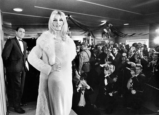 Brigitte Bardot at the 'Viva Maria' Premiere in Westwood, Time Magazine, 1965, Silver Gelatin Photograph