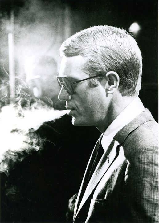 Steve McQueen on the set of Love With a Proper Stranger, Time Magazine, 1963, Silver Gelatin Photograph