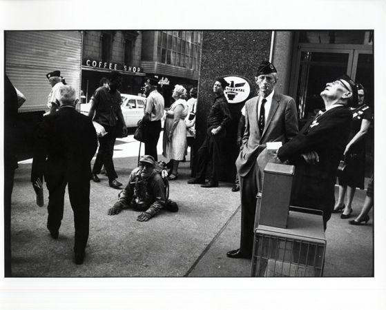 American Legion Convention, Dallas, 1964, 11 x 14 Silver Gelatin Photograph