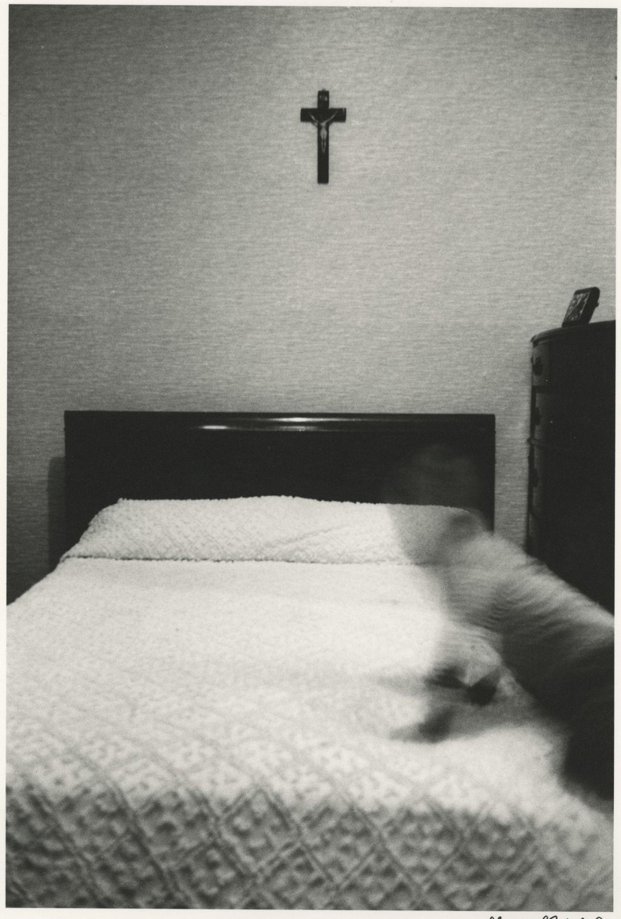 Boy on Bed, Bronx, 1964, Silver Gelatin Photograph
