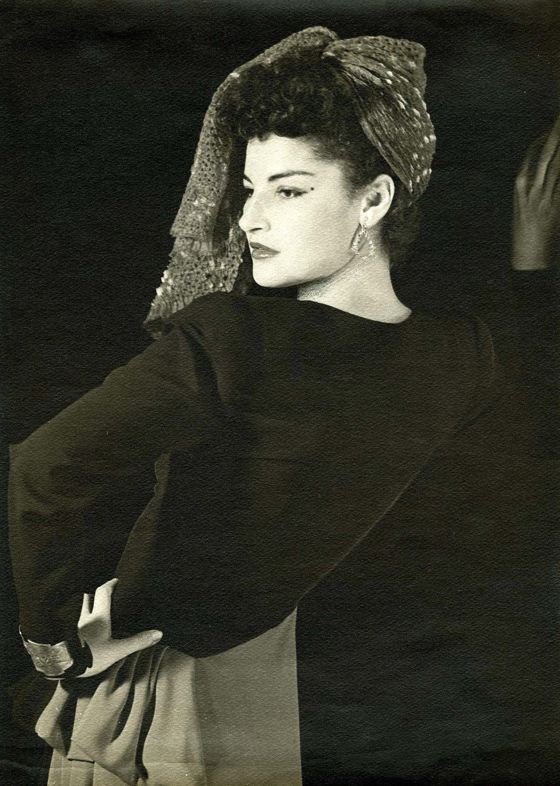 Man Ray Juliet with Head Scarf, circa 1949