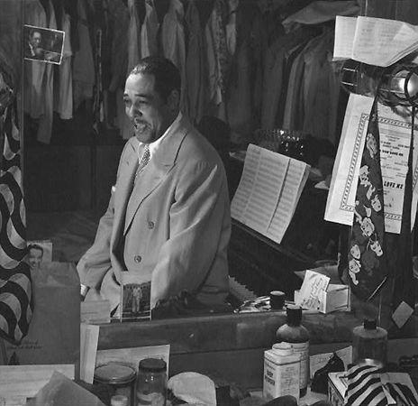 Portrait of Duke Ellington, Paramount Theater, New York, NY, c. September 1946, 20 x 16 Silver Gelatin Photograph