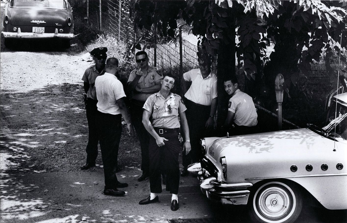 Copyright Danny Lyon / Magnum Photos, Clarksdale Mississippi Police, from Memories of the Civil Rights Movement, 1963
