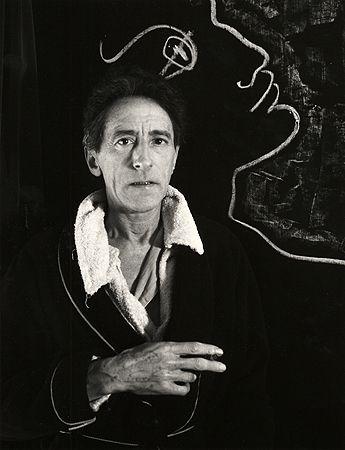 Jean Cocteau I, Paris, 1948, 40cm x 30cm Silver Gelatin Photograph