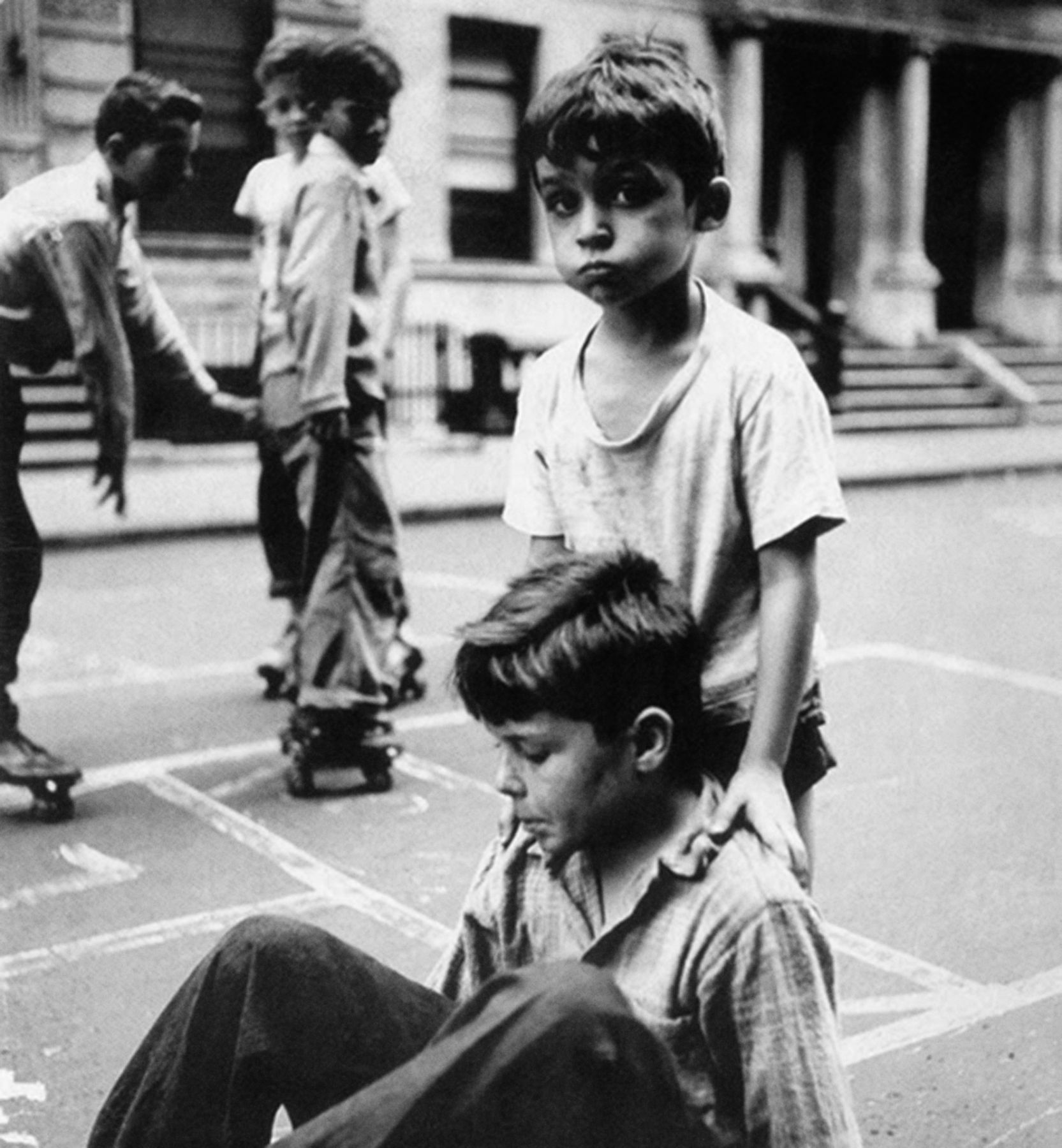 Boys on 93rd Street,New York, 1949, Silver Gelatin Photograph