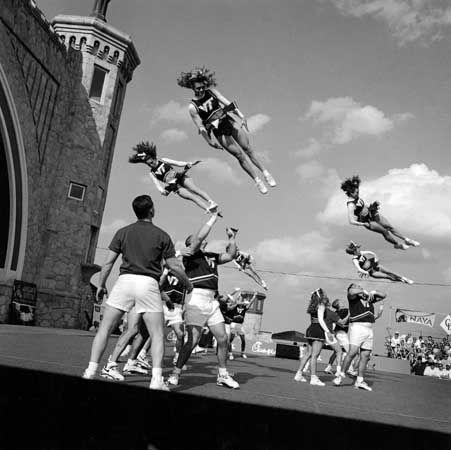 Cheerleaders, Daytona Beach, FL, 1988