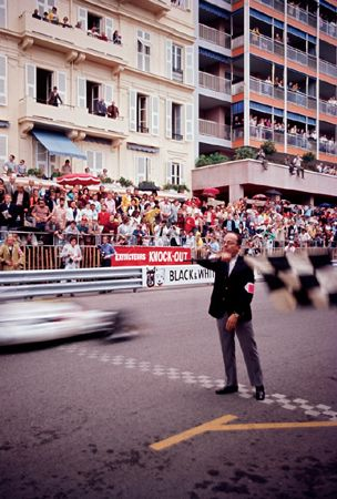Checkered Flag, Monaco, 1971
