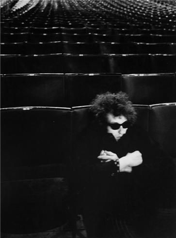 Bob Dylan, (Royal Albert Hall), London, England, 1966, 14 x 11 Silver Gelatin Photograph