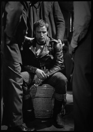 "Marlon Brando, ""The Wild One,"" 1954"