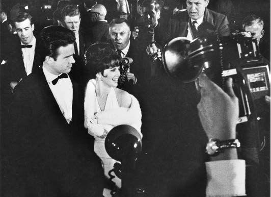 Warren Beatty &Natalie Wood arrive at the Oscars at Santa Monica Civic Auditorium, Time Magazine, 1961, Silver Gelatin Photograph