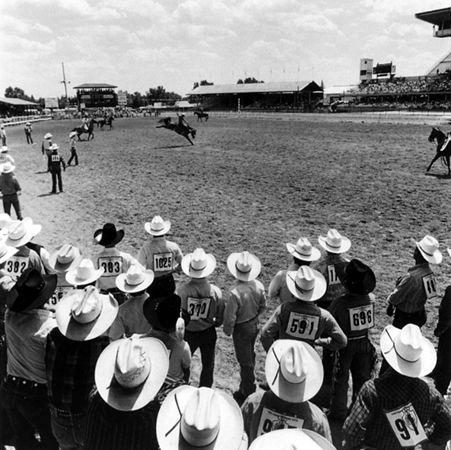 Frontier Days Rodeo, Cheyenne, Wyoming, 1990