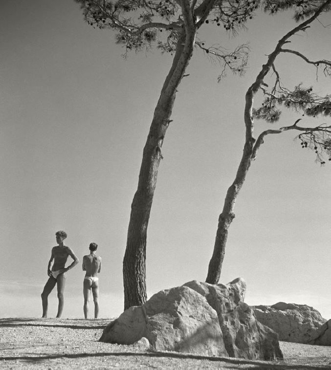 Young Men, Naxos, Greece, 1936, Silver Gelatin Photograph