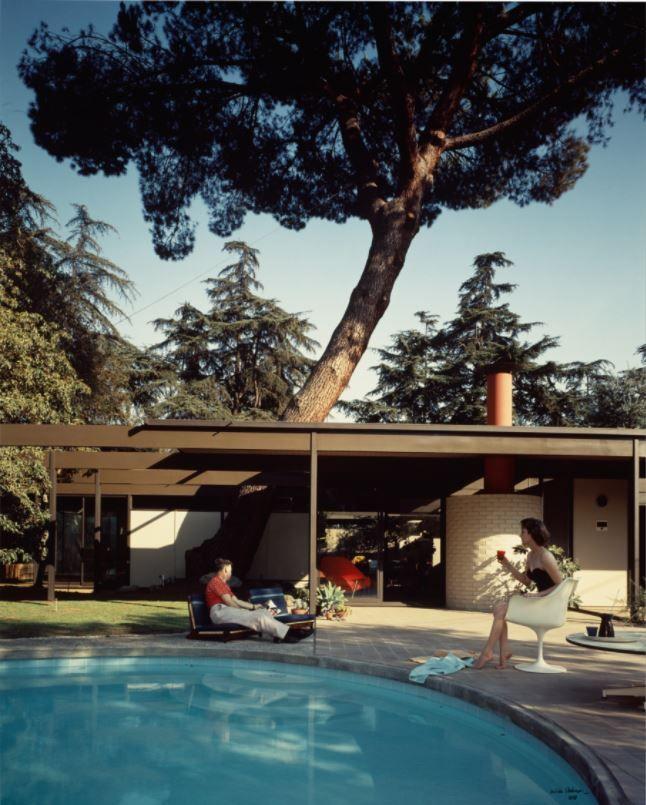 Case Study House #20, C. Buff, C. Straub, and D. Hensman, Altadena, California, 1958