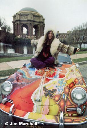 Janis Joplin, San Francisco, California, 1968, 14 x 11 Silver Gelatin Photograph