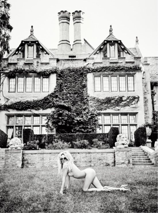 The Mansion, Los Angeles, 2015, Silver Gelatin Photogaph