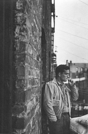 Heroic Portrait of Jack Kerouac, New York, 1953, 11-5/8 x 7-3/4 Platinum Palladium Photograph, Ed. 100