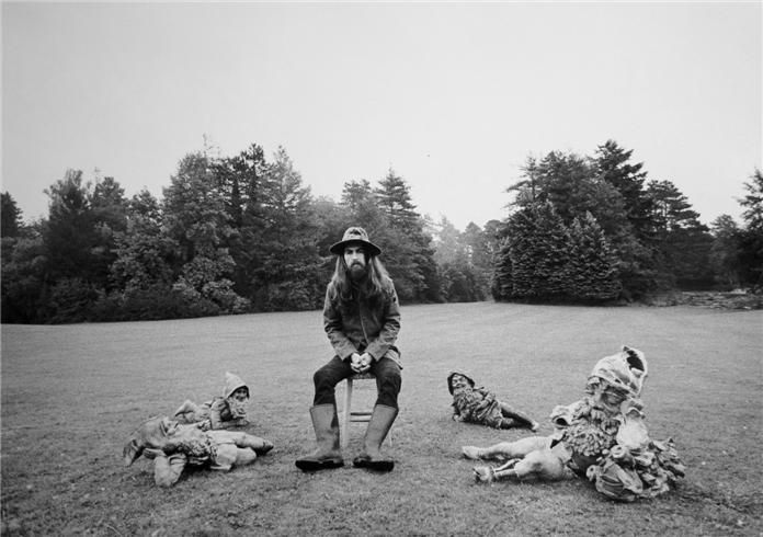 George Harrison (All Things Must Pass), Friar Park, England, 1970, 11 x 14 Silver Gelatin Photograph