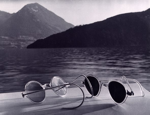 Sunglasses, Lake Lucerne, 1936, 40cm x 50cm Dye Transfer Print