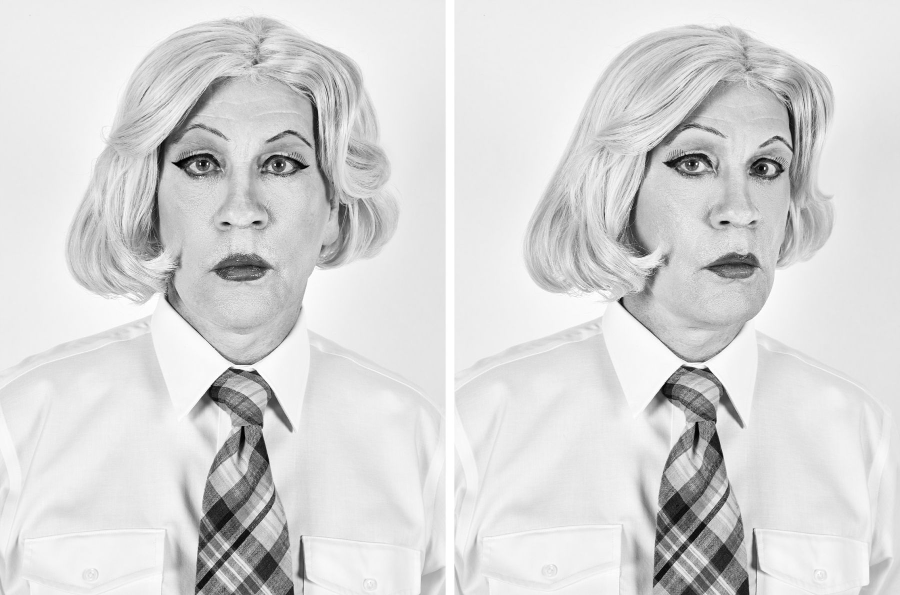Christopher Makos / Lady Warhol Diptych (1981), 2017, 20 x 30 Archival Pigment Print, Ed. of 35