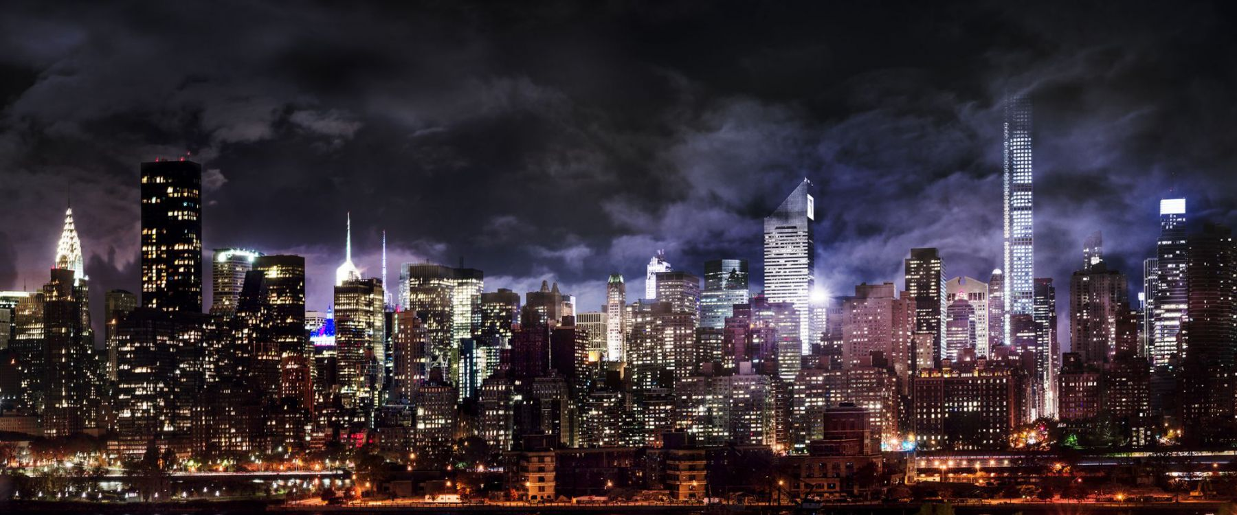 MANHATTAN NIGHTS, Archival Pigment Print