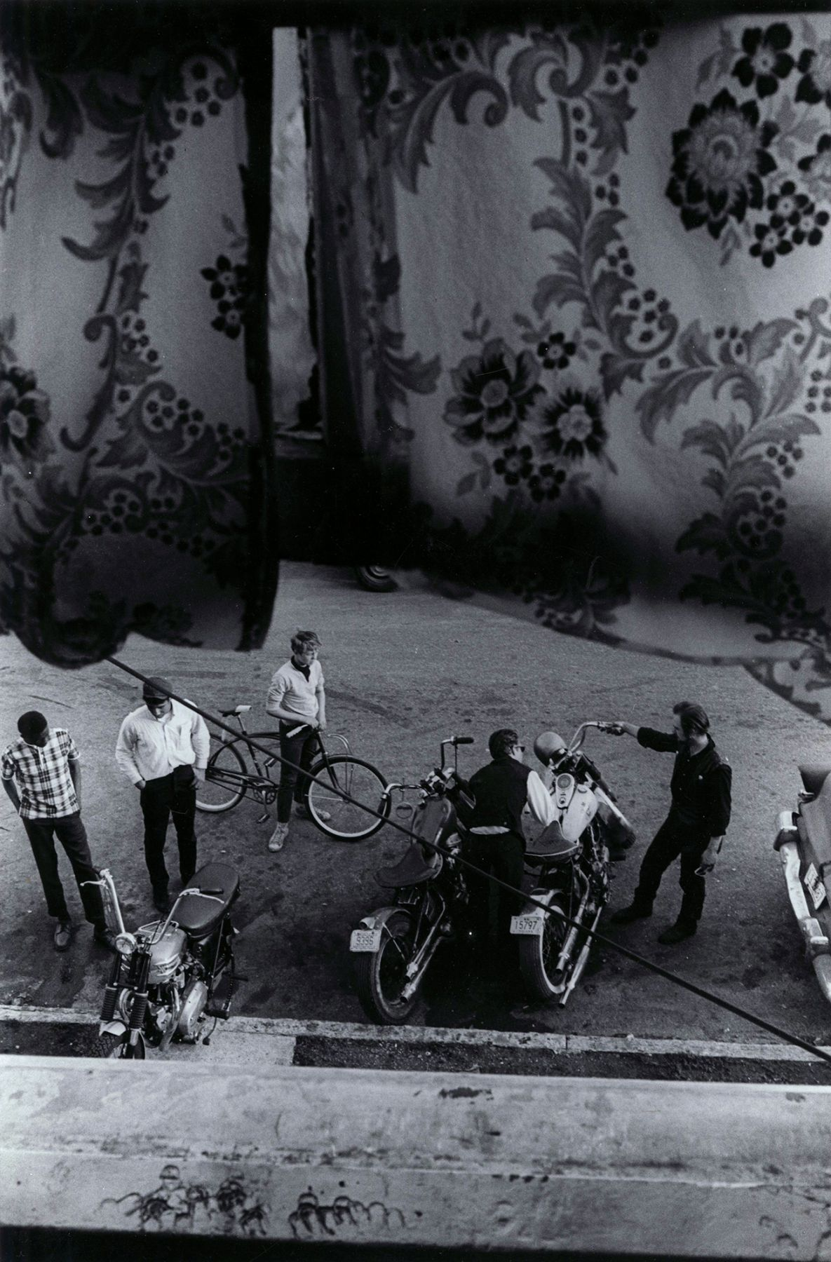 Copyright Danny Lyon / Magnum Photos, From Lindsey's room, Louisville, from The Bikeriders, 1966