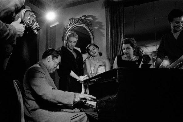 Duke Ellington, Paris, 1960, 11 x 14 Silver Gelatin Photograph