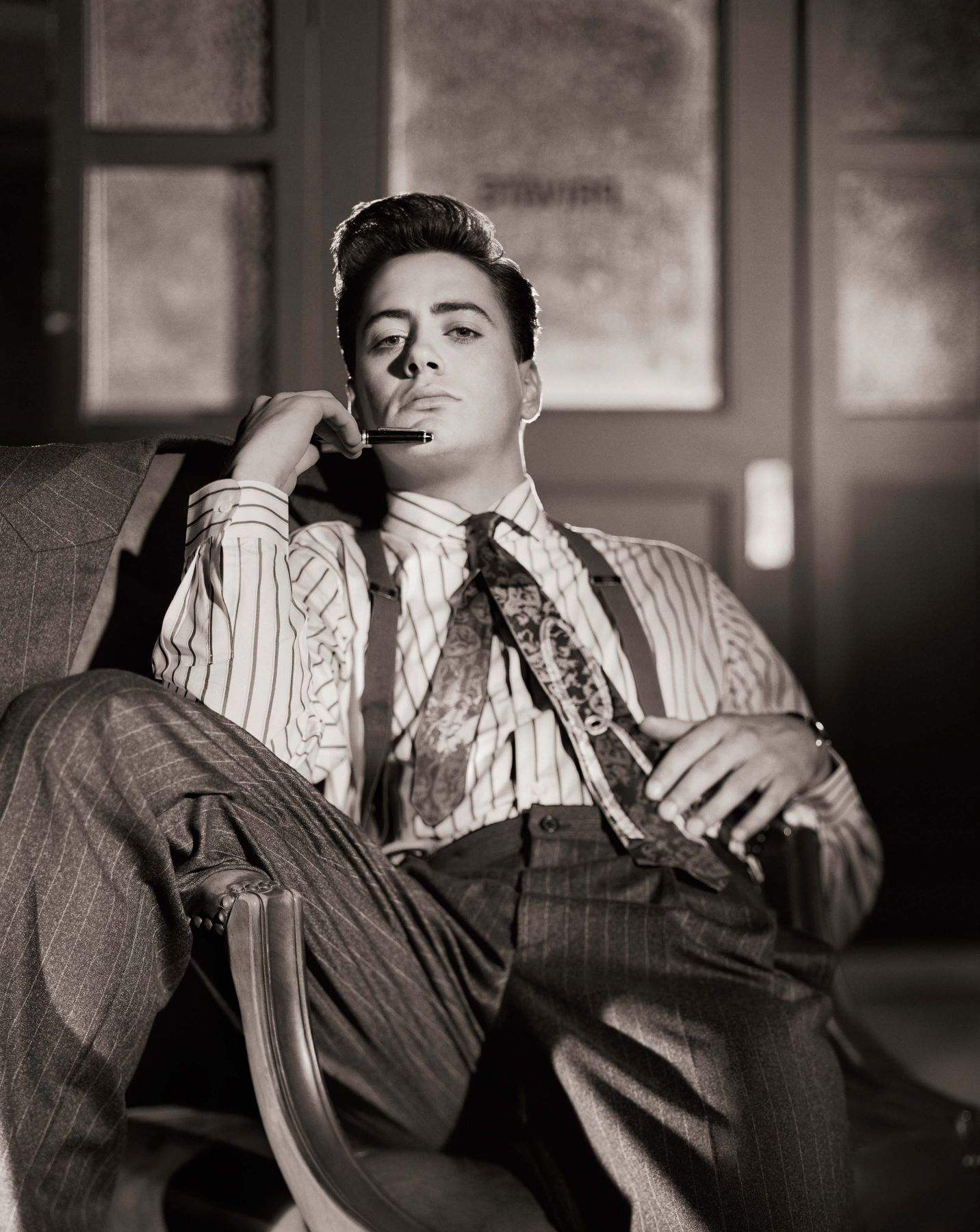 Robert Downey, Jr. - The Bad and the Beautiful, Series, Los Angeles, 1985, Archival Pigment Print