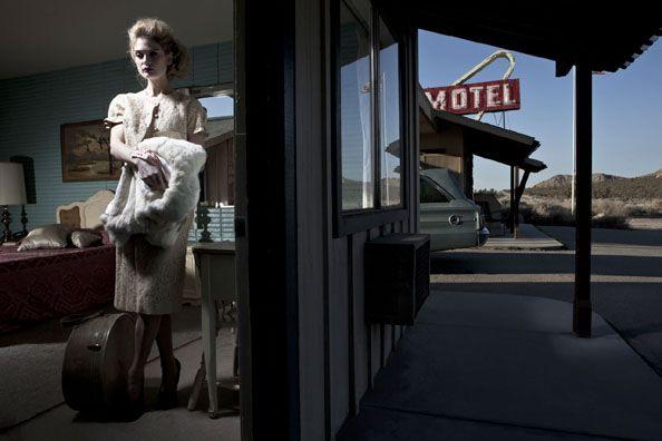 Lauren VI, Lancaster, California, 2010, 25-1/4 x 38 Archival Pigment Print, Ed. 12