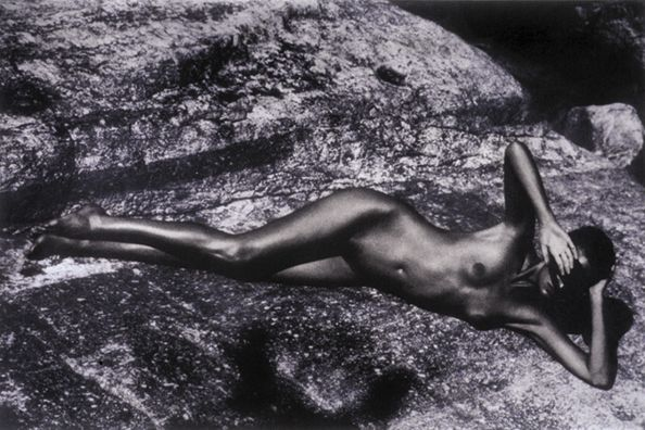 Nude, German Vogue, 1990, 13 x 19 Fresson Print