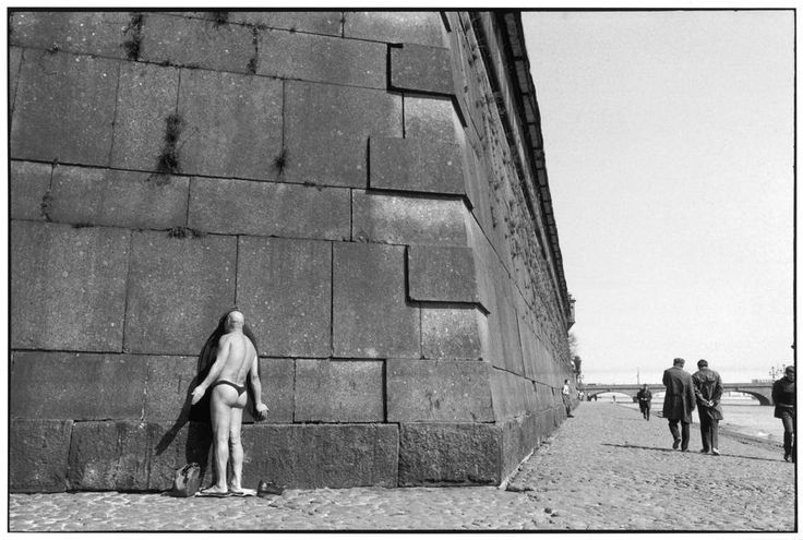 Fortress of Peter and Paul, Leningrad, 1973, 11 x 14 Silver Gelatin Photograph