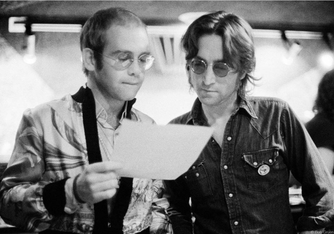 Elton John & John Lennon, NYC, 1974