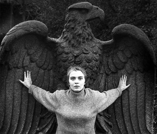 Jean Seberg, Central Park, New York, 1956