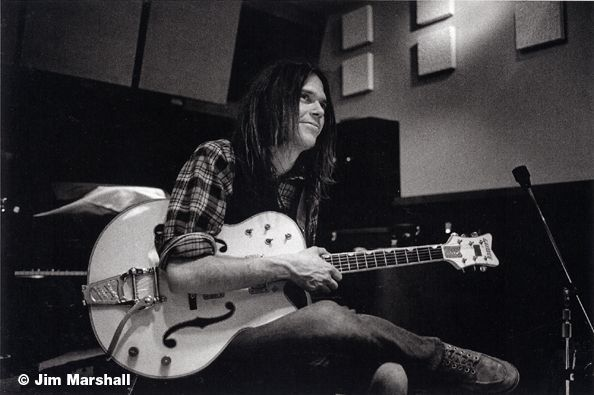 Neil Young, Los Angeles, 1969, 11 x 14 Silver Gelatin Photograph