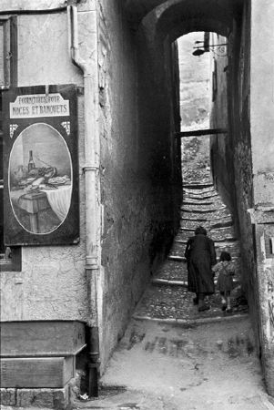 Briançon, France, 1952, 14 x 11 Silver Gelatin Photograph