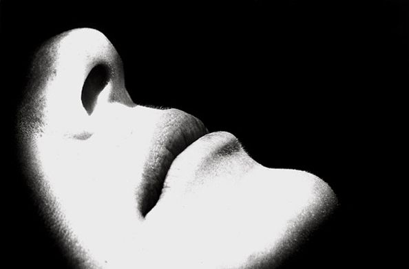 Untitled (Mouth & Nose), 11 x 14 Silver Gelatin Photograph, Ed. 25