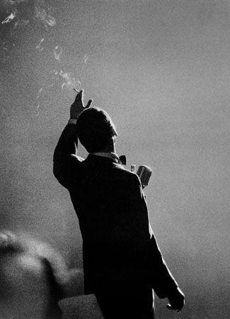 Frank Sinatra, Monte Carlo, 1958, 14 x 11 Silver Gelatin Photograph