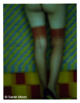Fashion 7, Stockings, 1997, 29-1/8 x 22-1/2 Color Carbon Photograph, Ed. 15
