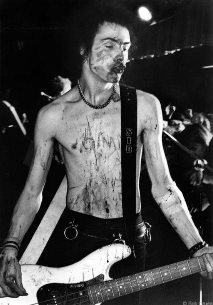 Sid Vicious, Texas, 1978, 11 x 14 Silver Gelatin Photograph
