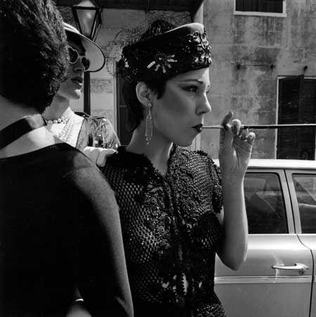 (Smoking Lady)