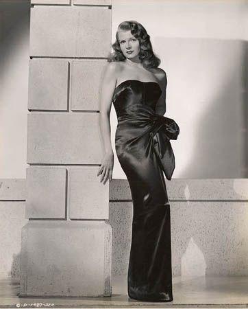 Rita Hayworth, 19-1/4 x 15 Vintage Silver Gelatin Photograph