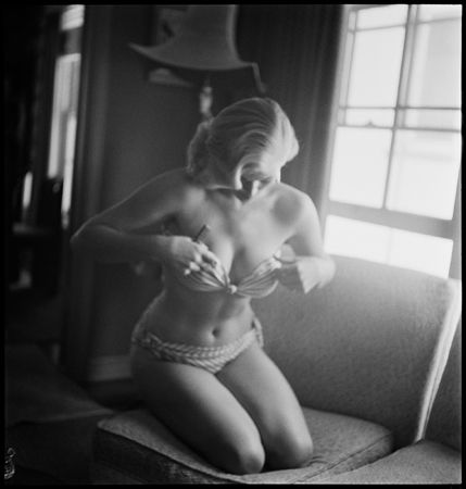 Anita Ekberg, First Publicity Shoot, 1953