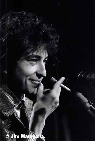 Bob Dylan (Close-Up with a Cigarette), 1965, 14 x 11 Silver Gelatin Photograph